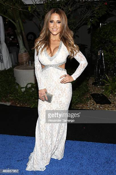 Jackie Guerrido attends the inaugural Premios Univision Deportes at Univision Studios on December 17 2014 in Miami Florida