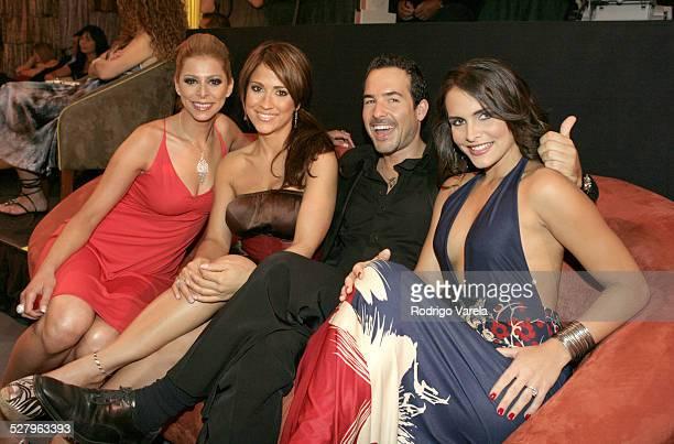 Jackie Guerrido Carlos Calderon and Lilia Luciano
