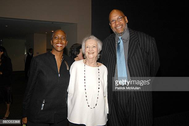 Jackie Harris Phoebe Jacobs and Williard Jenkins attend JAZZ at Lincoln Center Announces 2005 Class of Inductees Into Nesuhi Ertegun Jazz Hall of...