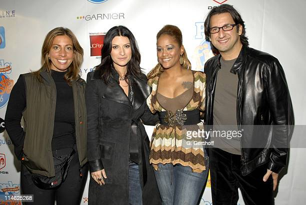 Jackie HernandezFallous publisher People en Espanol Laura Pausini Anais and Peter Castro editor People en Espanol