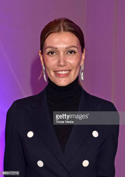 Jackie Hide attends the exhibition opening 'Sound of Passion' at Hotel De Rome on November 30 2017 in Berlin Germany