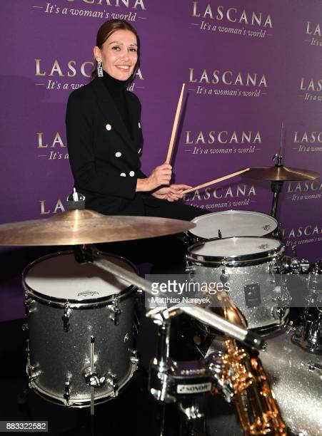 Jackie Hide attends the opening of the 'Sound of Passion' exhibition for dessous brand LASCANA at Hotel de Rome on November 30 2017 in Berlin Germany