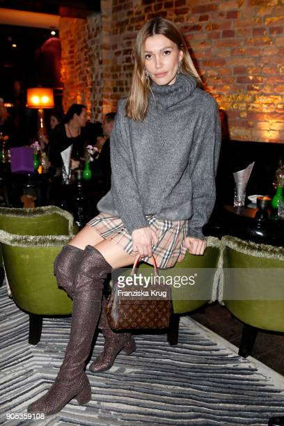 Jackie Hide during the Bunte New Faces Night at Grace Hotel Zoo on January 15 2018 in Berlin Germany
