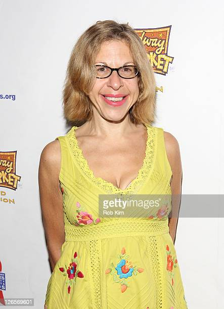 Jackie Hoffman attends the 25th annual Broadway Flea Market at The Bernard B Jacobs Theatre on September 25 2011 in New York City