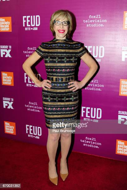 Jackie Hoffman attends the Latin History For Morons Opening Night Celebration at The Public Theater on March 27 2017 in New York City