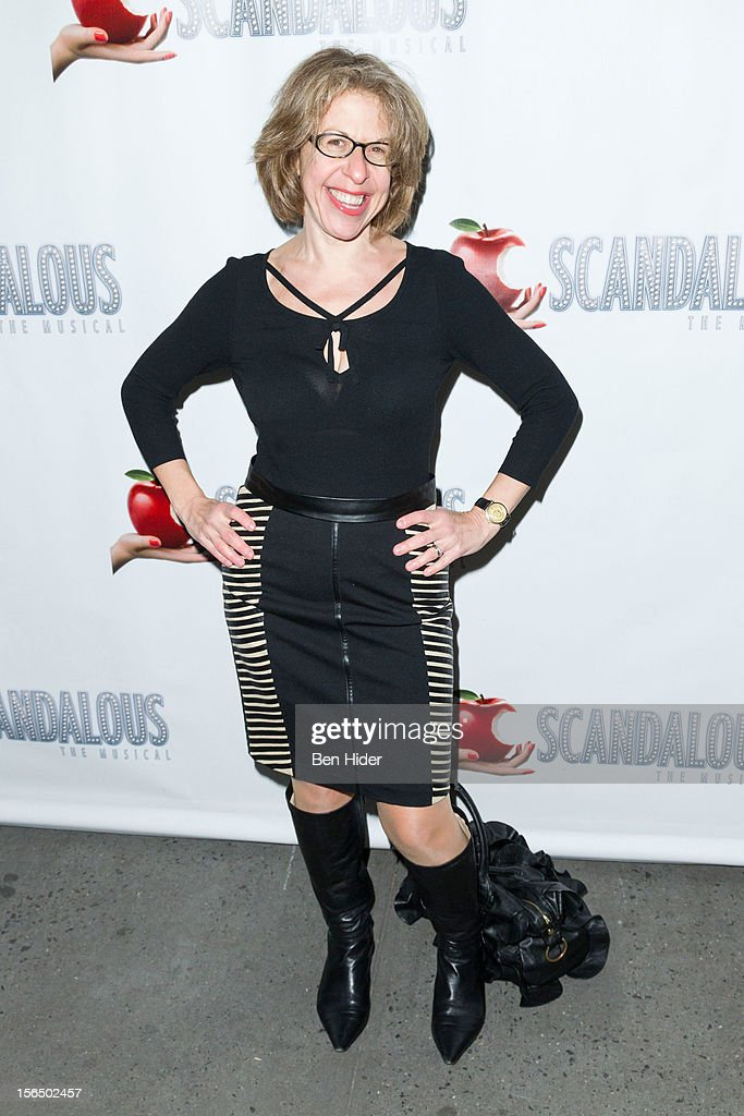 Jackie Hoffman attends the 'Scandalous' Broadway Opening Night'at Neil Simon Theatre on November 15, 2012 in New York City.