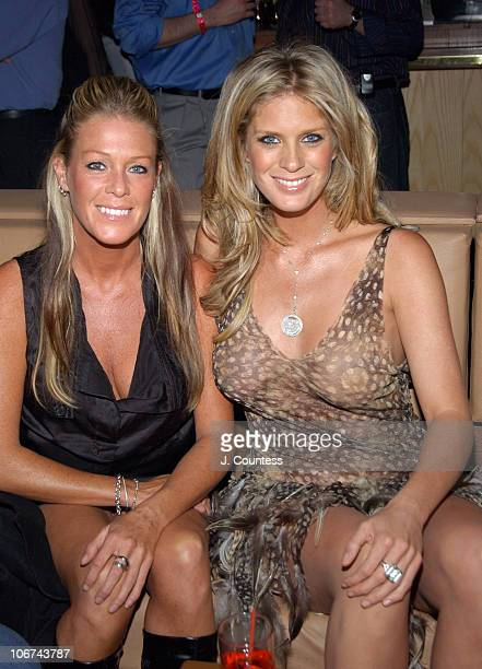 Jackie Hunter and Rachel Hunter during Rachel Hunter Celebrates Her Appearance in the April Issue of Playboy for their Annual Sex and Music Issue at...