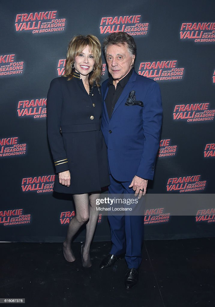 """""""Frankie Valli And The Four Seasons"""" Broadway Opening Night : News Photo"""