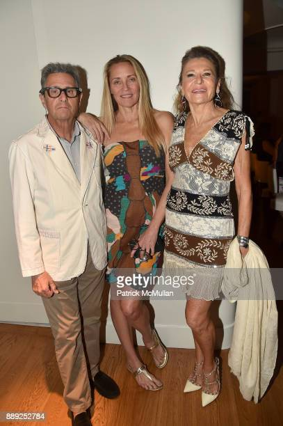 Jackie Jag Suzanne Oostdyk and Nikita Vanni attend the Galerie Gmurzynska Dinner in Honor of Jean Pigozzi at the Penthouse at the Faena Hotel Miami...
