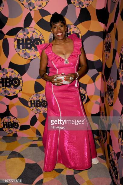 Jackie Joyner-Kersee attends HBO's Official 2020 Golden Globe Awards After Party in Los Angeles, California.