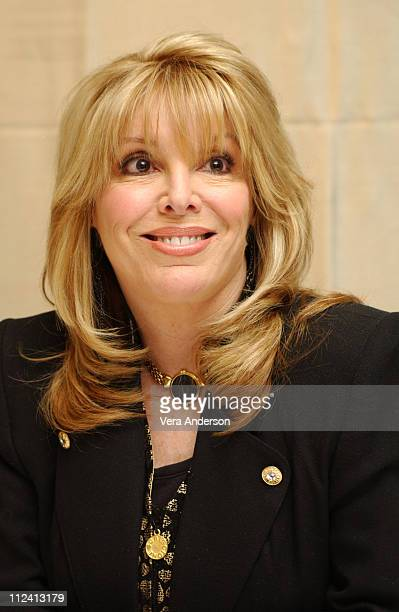 "Jackie Kallen during ""Against the Ropes"" Press Conference with Meg Ryan, Omar Epps, Charles S. Dutton and Jackie Kallen at The Four Seasons Hotel in..."