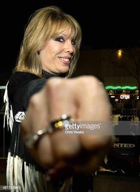 Jackie Kallen during Premiere of The Hunted at Mann Village Theatre in Westwood, California, United States.