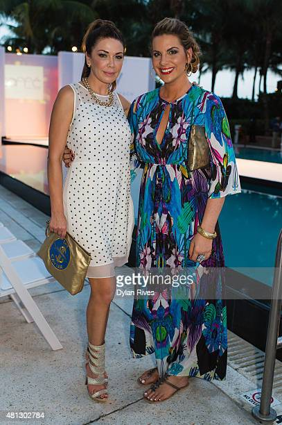 Jackie Kay and Shireen Sandoval attend CFDA Incubator show and cocktail party at W South Beach For SWIMMIAMI 2016 at W South Beach Hotel Residences...