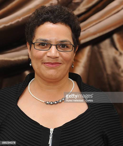 Jackie Kay attends the 'Galaxy British Book Awards' at Mandarin Oriental