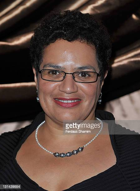 Jackie Kay attends the Galaxy National Book Awards 2011 at Mandarin Oriental Hyde Park on November 4 2011 in London England