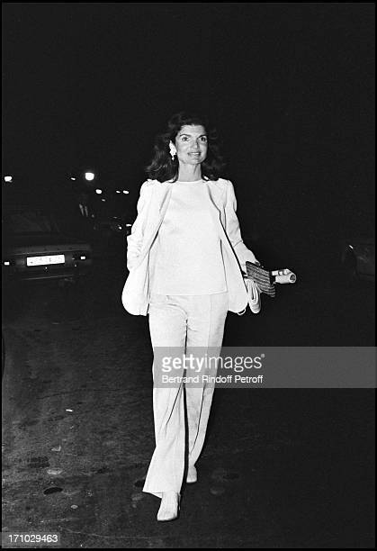 Jackie Kennedy in Paris in 1973