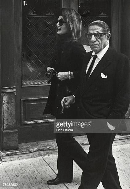 Jackie Kennedy Onassis and Aristotle Onassis