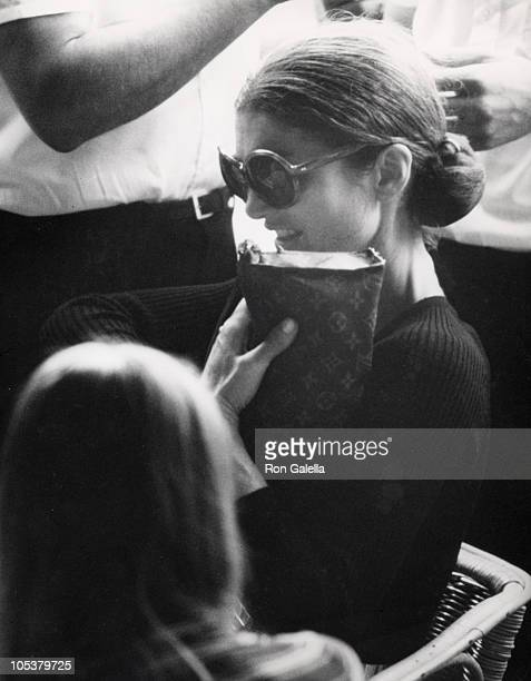 4c82727db434 Jackie Kennedy Onassis during Jackie Kennedy and Family Shopping in Capri  August 24 1970 in Capri