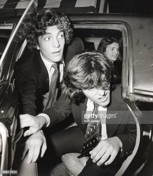 Jackie Kennedy Onassis John F Kennedy Jr and Ted Kennedy Jr