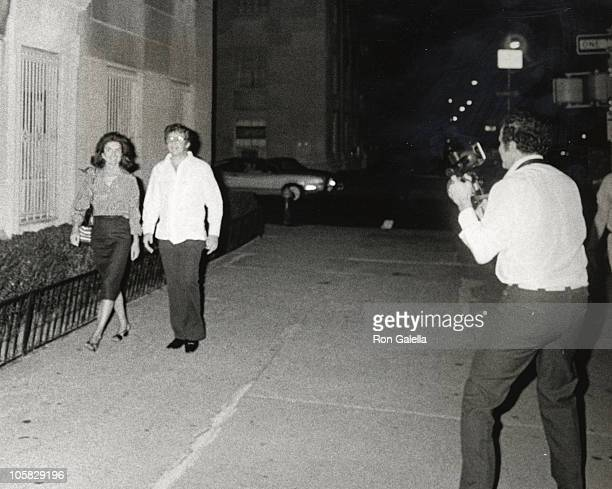 Jackie Kennedy Onassis Peter Hamil and Ron Galella