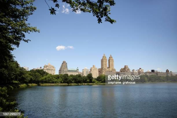 Jackie Kennedy Onassis Reservoir, Central Park, Manhattan, New York, America, USA