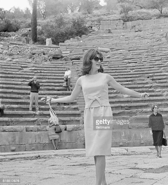 Jackie Kennedy vacationing in Greece