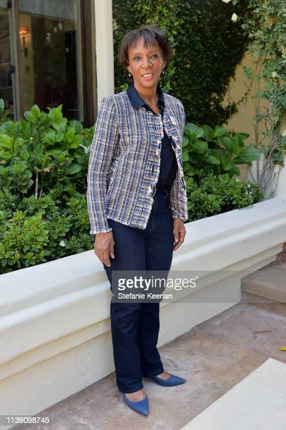 Jackie Lacey attends Valentino Sponsors HEART Annual Brunch on April 24 2019 in Los Angeles California