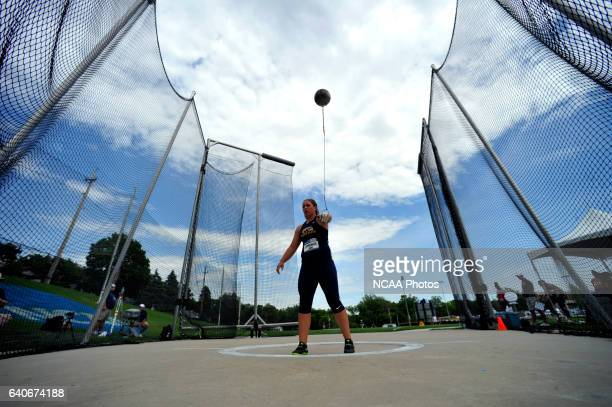 Jackie Leppelmeier of Kent State competes in the women's hammer throw during Division I Men's and Women's Outdoor Track and Field Championship held...