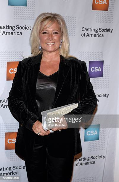 Jackie Lind arrives to The Casting Society of America's 30th Annual Artios Awards Banquet at the Beverly Hilton Hotel Thursday evening