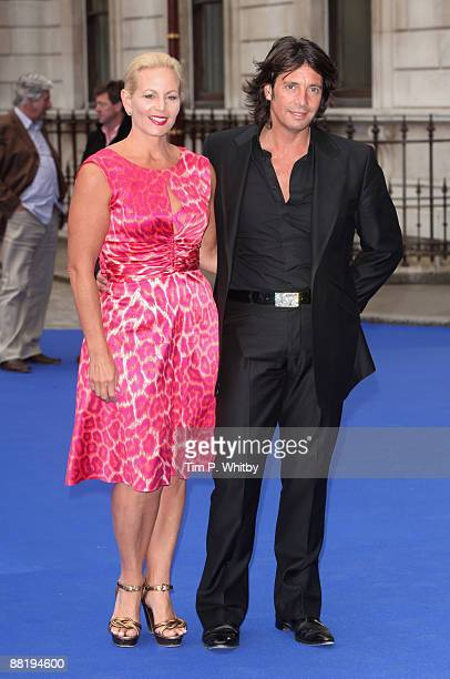 Jackie Llewellyn Bowen and Lawrence Llewellyn Bowen attend The Royal Academy of Arts Summer Exhibition Preview Party 2009 at Royal Academy of Arts on...