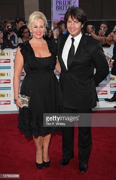 Jackie Llewelyn Bowen and Laurence Llewelyn Bowen attend the Pride of Britain Awards at the Grosvenor House Hotel on October 3 2011 in London England