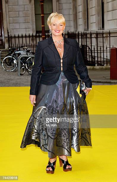 Jackie LlewelynBowen arrives at the 2007 Royal Academy Summer Exhibition private view held at the Royal Academy on June 6 2007 in London