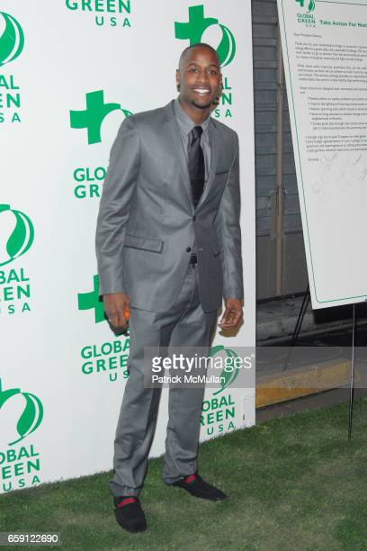 Jackie Long attends 6th Annual Global Green USA PreOscar Party at Avalon Hollywood on February 19 2009 in Hollywood California