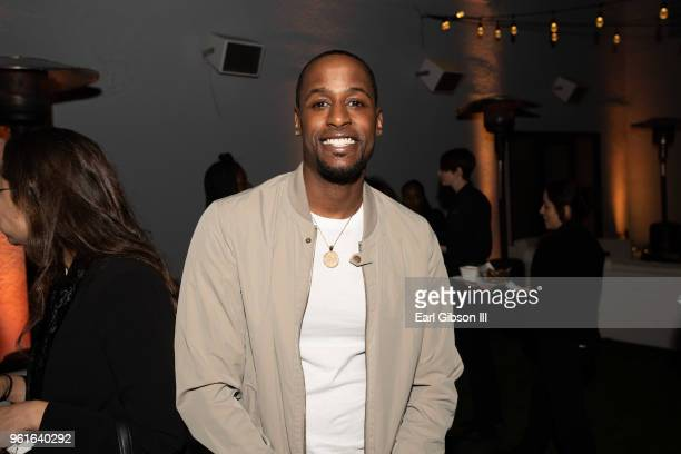 Jackie Long attends the Premiere of WEtv's Growing Up Hip Hop Season 4 on May 22 2018 in West Hollywood California