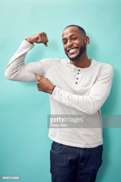 Jackie Long from the film 'Bodied' poses for a portrait in the YouTube x Getty Images Portrait Studio at 2018 Sundance Film Festival on January 21...