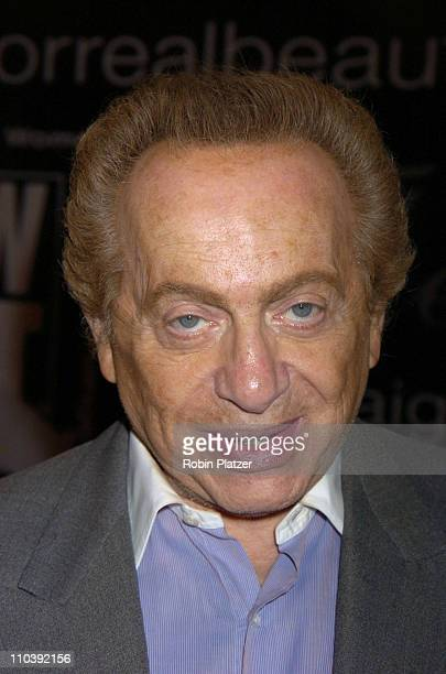 Jackie Mason during American Women in Radio Television 30th Annual Gracie Allen Awards at New York Marriot Marquis Hotel in New York City New York...