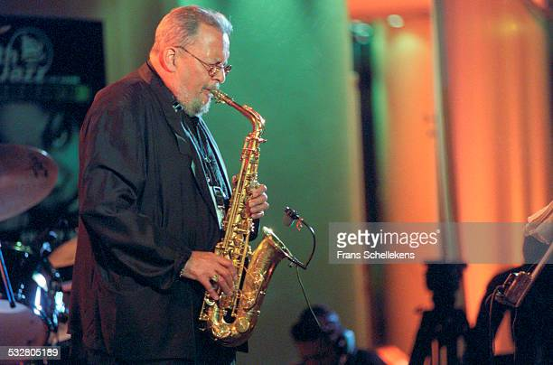 Jackie McLean, alto saxophone, performs on July 14th 2001 at the North Sea Jazz Festival in the Hague, Netherlands.