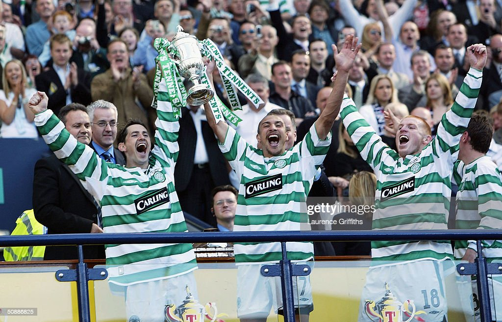 Tennents Scottish Cup Final: Celtic v Dunfermline : News Photo