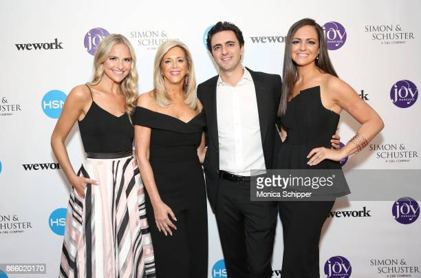 Jackie Miranne Joy Mangano Robert Miranne and Christie Miranne attend as inventor and entrepreneur Joy Mangano celebrates the release of her first...