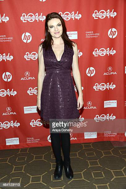 Jackie Monahan attends the The Foxy Merkins premiere at Prospector Square on January 20 2014 in Park City Utah
