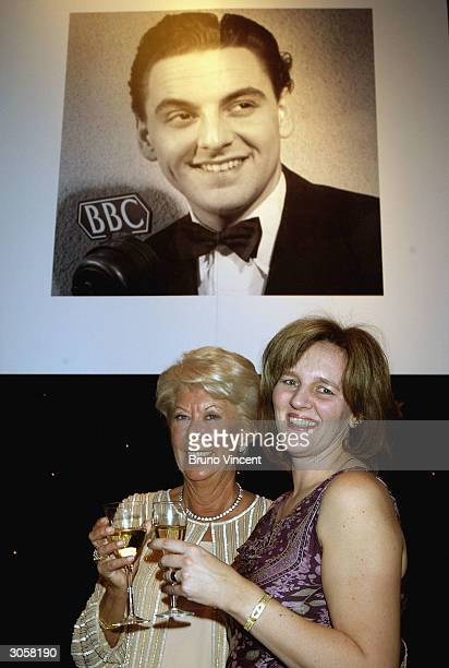 Jackie Monkhouse Bob Monkhouse's widow and her daughter Abigale Williams pose for photographers at Bob Monkhouse A BAFTA Tribute in hounour of the...