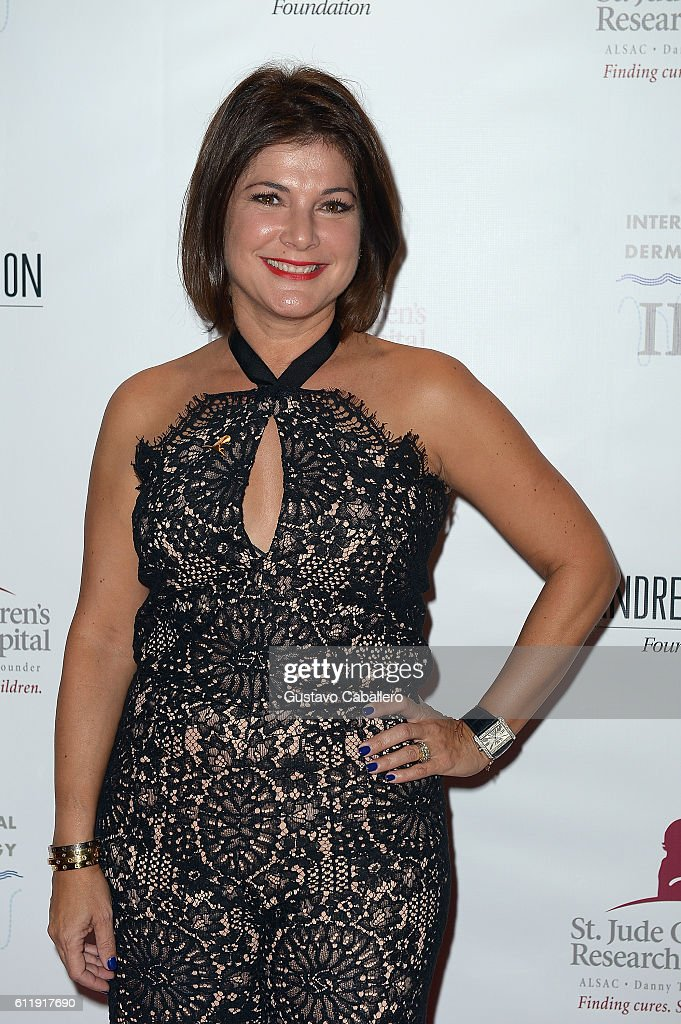 Jackie Nespral attends the 9th Annual International Dermatology 'It's All About the Kids' Benefit at JW Marriott Marquis on October 1, 2016 in Miami, Florida.