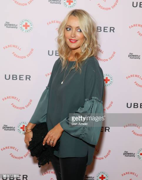 Jackie O arrives ahead of the Uber x Red Cross Farewell Fashion Show on May 31 2018 in Sydney Australia