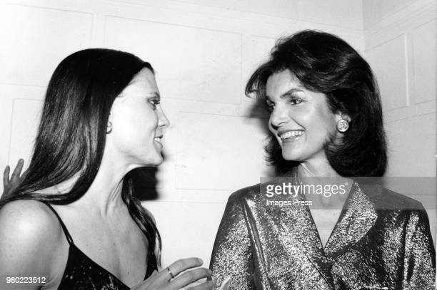 Jackie Onassis and Ann Reinking circa 1979 in New York