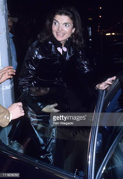 Jackie Onassis during Jackie Onassis At Hunan Chinese Retaurant at Hunan Chinese Retaurant in New York United States