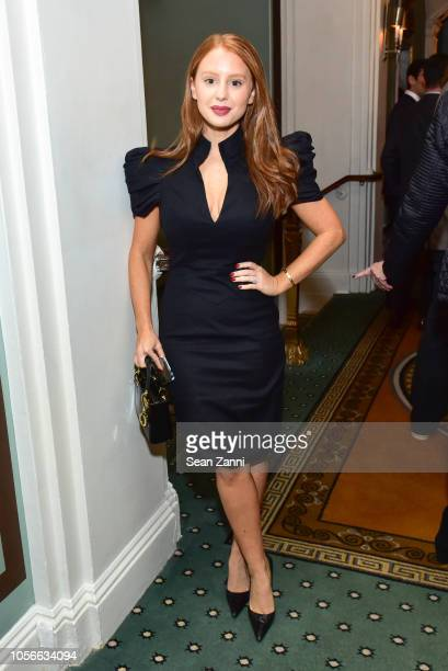 Jackie Oshry attends the Alzheimer's Drug Discovery Foundation's Ninth Annual Fall Symposium Luncheon at The Pierre Hotel on November 2 2018 in New...