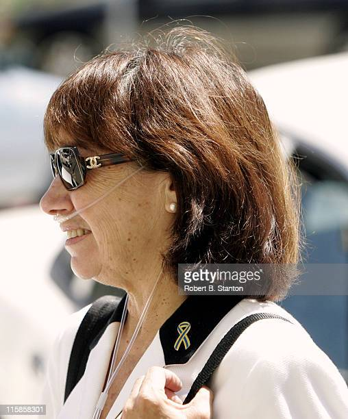 Jackie Peterson Scott Peterson's mother at the Scott Peterson murder trial the day Amber Frey testifies San Mateo County Courthouse Redwood City...