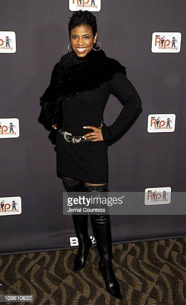 Jackie Reid during BET Presents 'Rip The Runway' Arrivals at Roseland Ballroom in New York City New York United States