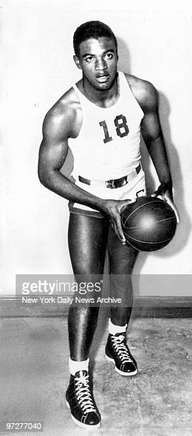 Jackie Robinson in basketball uniform of UCLA