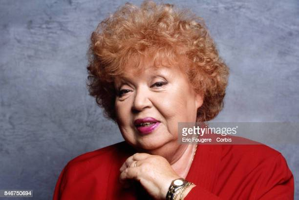 Jackie Sardou poses during a portrait session in Paris, France on .